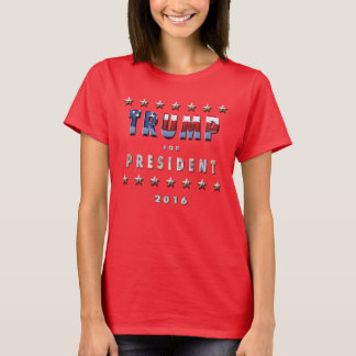 Donald Trump för president i 2016 T-shirts
