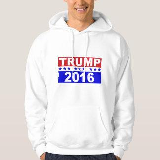 Donald Trump för presidenten 2016 Tröja Med Luva