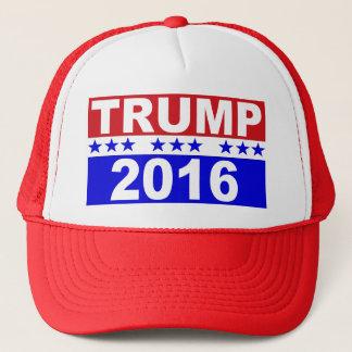 Donald Trump för presidenten 2016 Truckerkeps