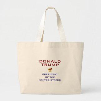 Donald Trump för presidenten USA Jumbo Tygkasse
