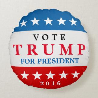Donald Trump för servicekampanjen för president Rund Kudde