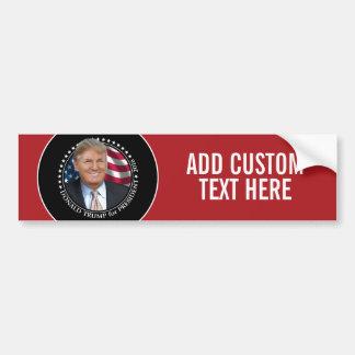 Donald Trump foto - president 2016 Bildekal