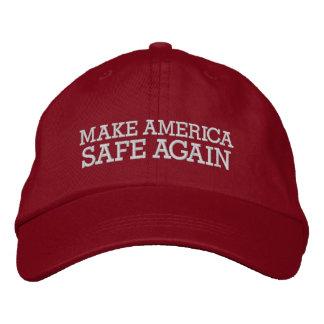 Donald Trump - gör Amerika kassaskåpet igen Broderad Keps