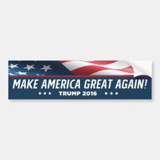 Donald Trump gör Amerika underbar igen 2016 Bildekal