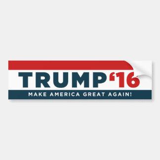 Donald Trump gör Amerika underbar igen! Rikligt Bildekal