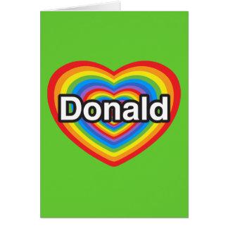 Donald Trump Hälsningskort