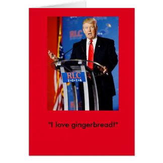 Donald Trump julkort Hälsningskort