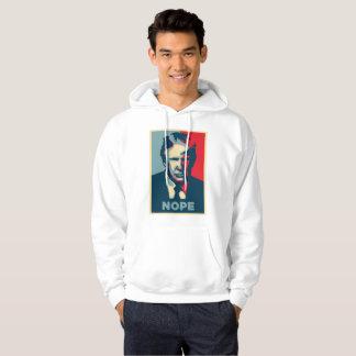 Donald Trump nopemanar hooded hoodie för tröja