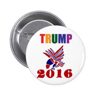 Donald Trump politisk design Standard Knapp Rund 5.7 Cm
