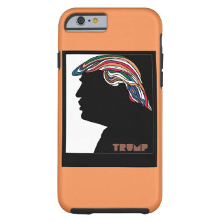 Donald Trump Psychedelic Combover Tough iPhone 6 Case