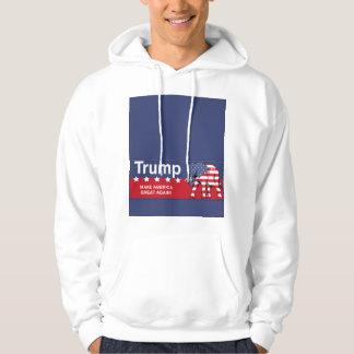 Donald Trump republikan 2016 Tröja Med Luva