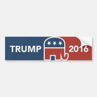 Donald Trump republikansk elefantbildekal Bildekal