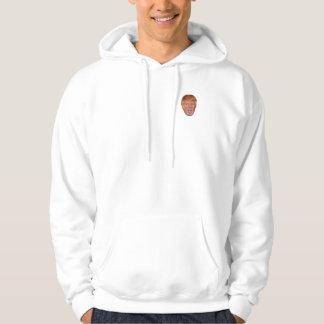 Donald Trump som flyter huvudet Sweatshirt