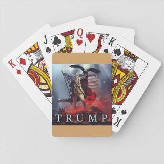 Donald Trump som leker kort Casinokort