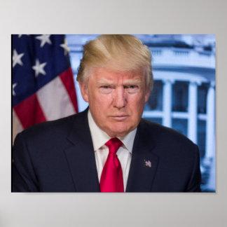 Donald Trump som president Poster