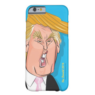 Donald Trump tecknadIphone 6 /6s fodral Barely There iPhone 6 Skal
