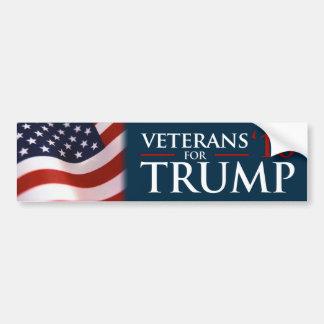 Donald Trump veteran för riklig trumf 2016 Bildekal