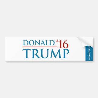 Donald Trump 'vit för 16 bildekal