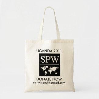 Donera för utbildning i afrika tygkasse