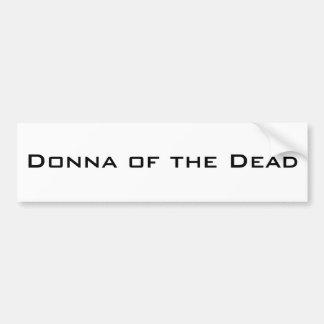 Donna av deadna bildekal