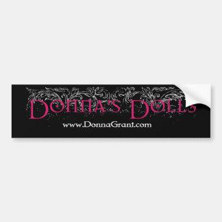 Donnas dockor bildekal