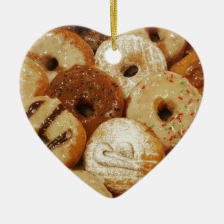 Donuts Julgransprydnad Keramik