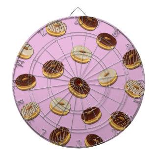 Donutsmönster - rosa piltavlor