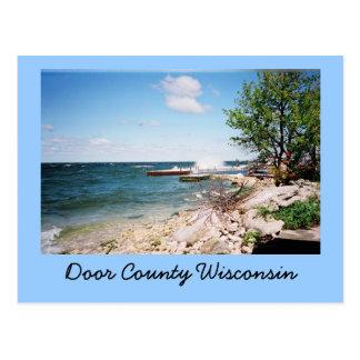 Door County Wisconsin vykort