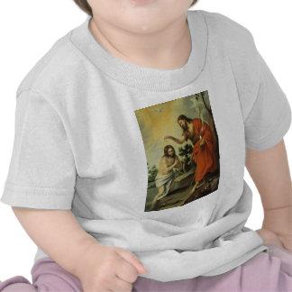 Dop av Kristus av Bartolome Esteban Murillo Tee Shirt