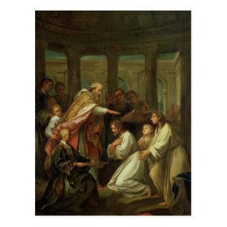 Dop av St Augustine Vykort