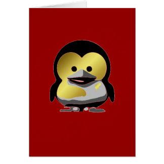 d'Or för LinuxbabyTux Hälsningskort
