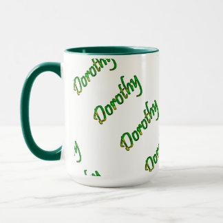 Dorothy gröntstil 15 uns Ringermugg Mugg