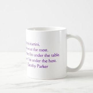 """Dorothy Parker """"älskar jag en Martini"""" muggen Kaffemugg"""