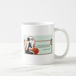 Dorothy Parker citationstecken Kaffemugg