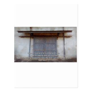 Dörr för liv vykort