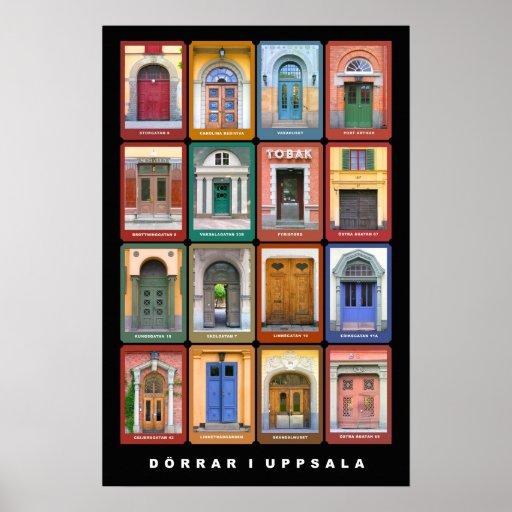 Dörrar i Uppsala Affisch