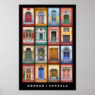 Dörrar i Uppsala Poster