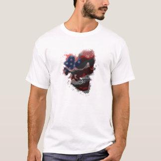 döskallar och remsor tee shirt