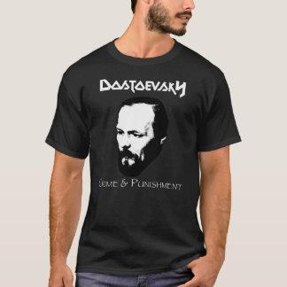 Dostoevsky brott & bestraffning t-shirt
