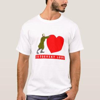 Dostoevsky kärlekvalentin skjorta tshirts