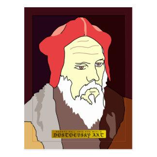 "Dostoevsky konst""Durer"" vykort"