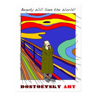 """Dostoevsky konst """"mumsar"""" vykortet vykort"""