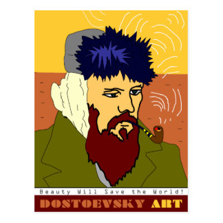 Dostoevsky konstVan Gogh vykort