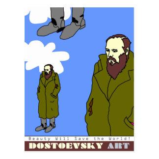 Dostoevsky konstvykort vykort