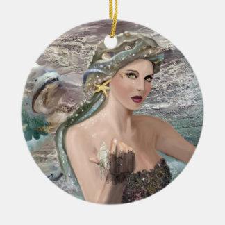 Dotter av Oceanus Julgransprydnad Keramik