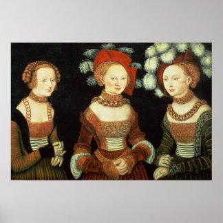 Döttrar av hertigen Heinrich av Frommen Poster