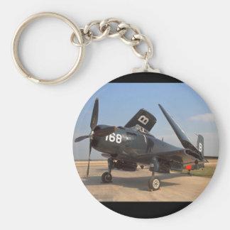Douglas Skyraider, flyg 1949_Classic Rund Nyckelring