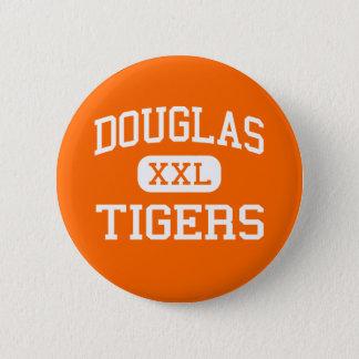 Douglas - tigrar - högstadium - Minden Nevada Standard Knapp Rund 5.7 Cm