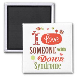 Down Syndrome medvetenhet Magnet För Kylskåp