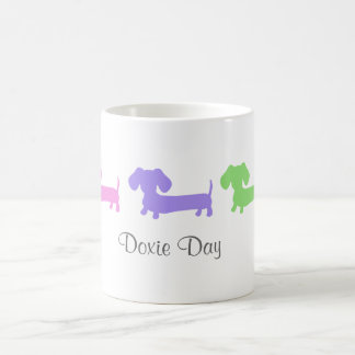 Doxie dag kaffemugg